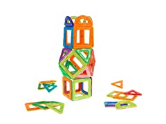 Magnetic Tile Toy Building Magnet Blocks (40 Piece)