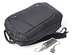 Power Backpack with Removable 4500 mAh Battery