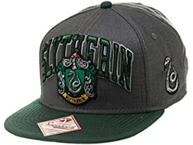 Bioworld Harry Potter Slytherin Snapback Hat