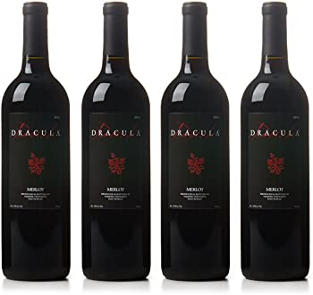 4-Pk. Vampire Vineyards Dracula Merlot