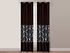 "84"" Grommet Panels S/2 - 8 Designs"