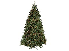 """Douglas Fir Tree 6'5"""" Prelit Multi"""