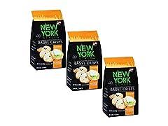 New York Style Bagel Crisp, Sesame, 7.2 Ounce (Pack of 3)