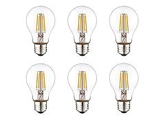A19 LED Light Bulbs (6-Pack)