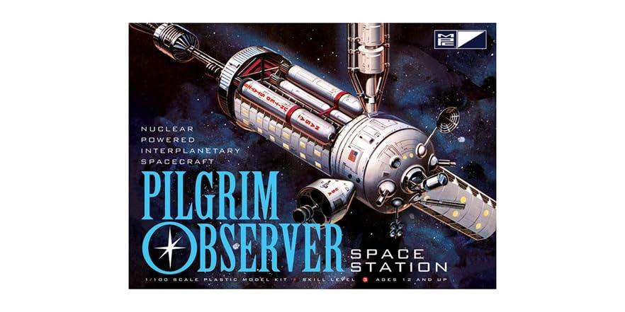 MPC NASA Pilgrim Observer Space Station - Kids & Toys