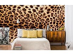 Leopard Skin Wall Mural