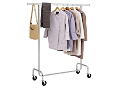 SONGMICS Heavy Duty Clothes Garment Rack