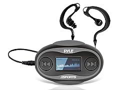 Pyle 4GB Waterproof MP3 Player/FM Radio