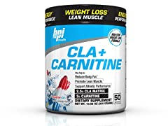 BPI Cla + Carnitine Weight Loss Supplement Powder