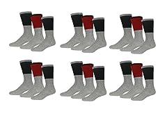 Nextex Insulated Thermal Crew Socks 9P