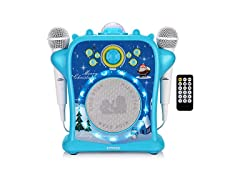 EARISE T29 Karaoke Machine for Kids with Voice Changer