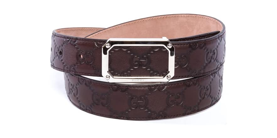 gucci brown belt fashion