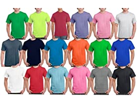 Gildan Men's Short Sleeve Tees 12-Pack