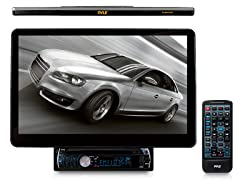"13.1"" Motorized Touch Screen Car Receiver w/ Bluetooth"