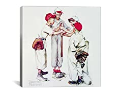 Four Sporting Boys: Baseball (2-Sizes)