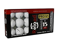 15pk of Titleist Prov1 with 30 Tees