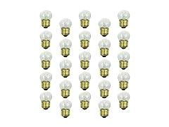 Sunlite E26 String Light Bulbs (25-Pk)