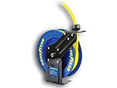 "Goodyear 3/8"" x 25' Retractable Air Hose Reel"
