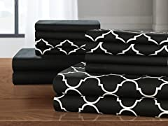 Chic Home Design Illusion 12-Piece Sheet Set