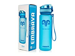 Embrava Best Sports Water Bottle - 18oz Small