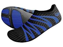 ZEMGear 360 Round Toe Shoes, Black/Blue