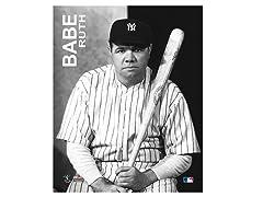 """Babe Ruth 8"""" x 10"""""""