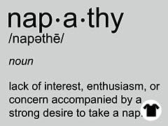 Apathy + Nap