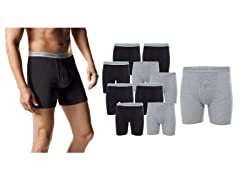 Hanes Men's Tagless Boxer Briefs 10-Pack