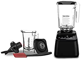 Blendtec Designer 650 with Wildside+ Jar and Twister Jar Bundle