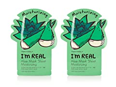 I'm Real Aloe Mask Sheet -  Twin Pack