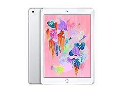 Apple iPad (2018, Current Gen) 128GB Wi-Fi Tablet