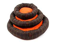 Dozer Donut Round Bolster Dog Bed