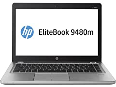 "HP EliteBook Folio 14"" 8GB DDR3 Ultrabook"