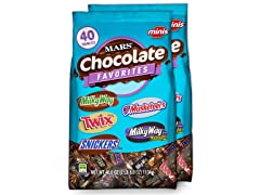 Minis Chocolate Candy Variety Mix, 2pk