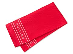 Pro Series Waffle Towel - Red