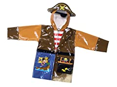 Pirate Rain Coat (2T-5/6)