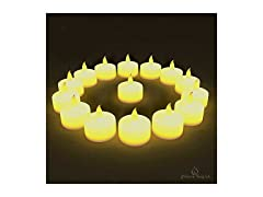 Flameless Tea Lights- 24 Pack
