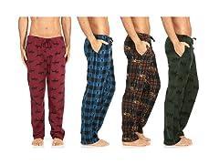 Men's Soft Micro Fleece Pajama Lounge Pants