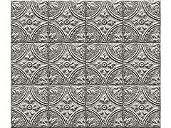 Restored Tile Silver Backsplash