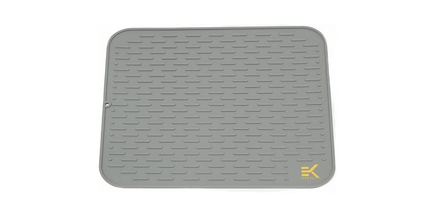 Eekay Wares Silicone Drying Mat- Pick Color, Size | WOOT