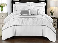 Chic Home Cheryl 10-Piece Comforter Set