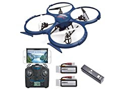 Force 1 UDI U818A Quadcopter Drone Blue
