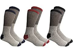 Unisex Insulated Thermal Cotton Crew Socks