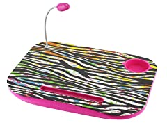 Laptop Cushion - Zebra