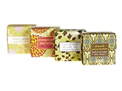 Four Pack of Shea Butter Soaps Set