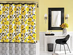 Steve Madden Gemma Shower Curtain