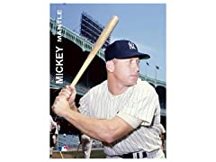 "Mickey Mantle 4"" x 6"""