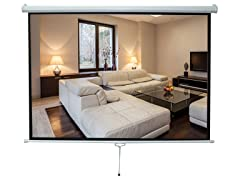 "Pyle Projection Screen 42.5"" x 56.6"""