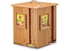 Bambusi Bamboo Display Tea Box