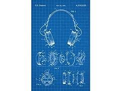 Koss Headphones - 1981 - Screen Print